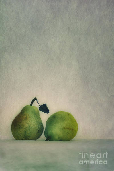 Wall Art - Photograph - A Couple Of Pears by Priska Wettstein