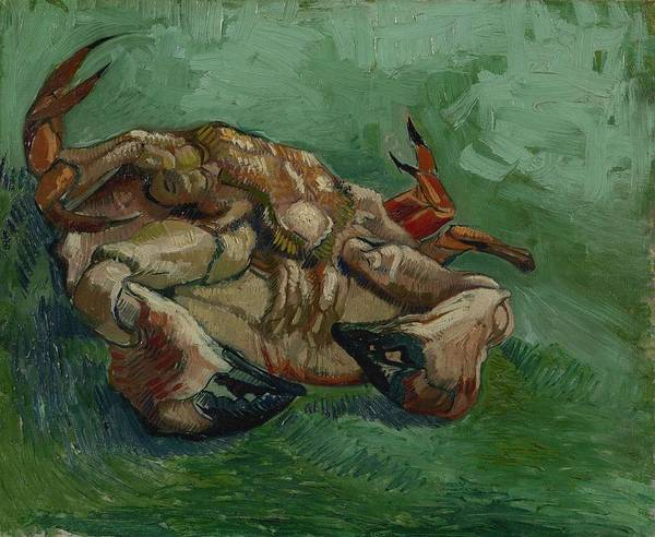Painting - A Crab On Its Back Paris, August-september 1887 Vincent Van Gogh 1853  1890 by Artistic Panda