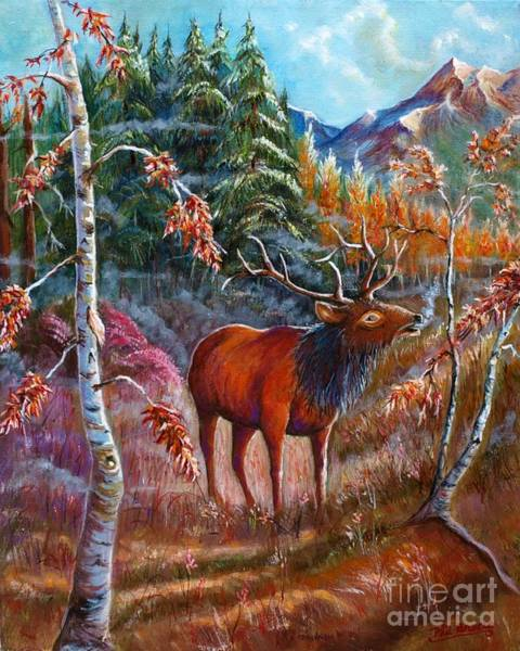 Mixed Media - A Cry In The Wild by Philip Bracco