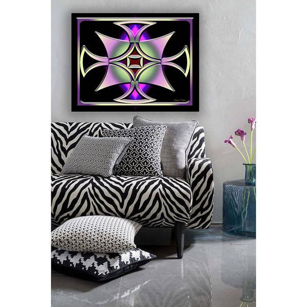 Digital Art - A Dark Splash Of Color 41 Wall Art by Chuck Staley