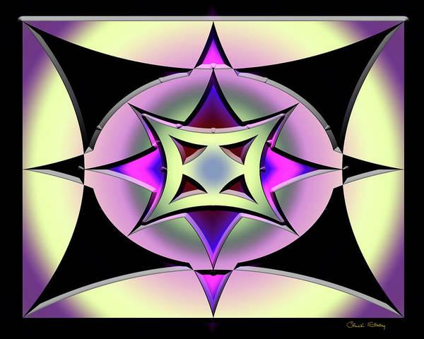 Digital Art - A Dark Splash Of Color 42 by Chuck Staley
