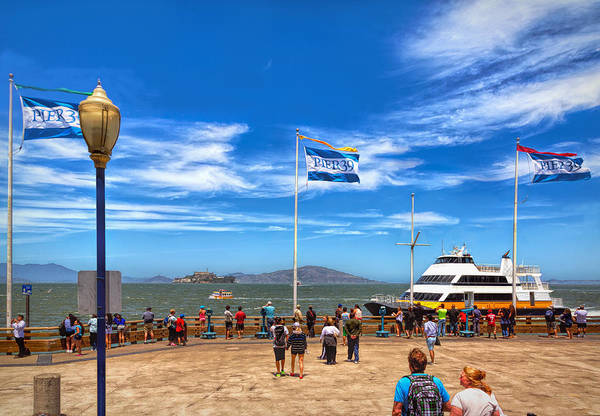 Photograph - A Day At Pier 39 by John M Bailey