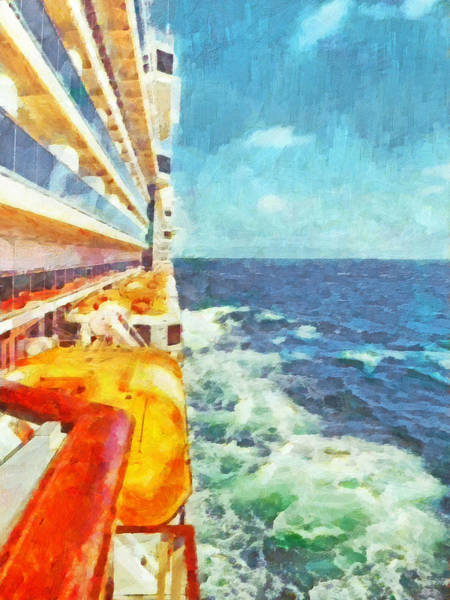 Digital Art - A Day At Sea In The Baltic by Digital Photographic Arts