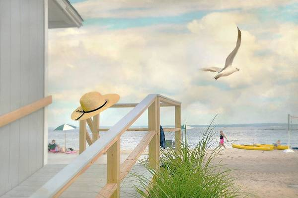 Wall Art - Photograph - Day At The Beach by Diana Angstadt