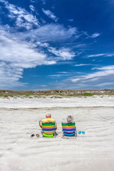 Wall Art - Photograph - A Day At The Beach by W Chris Fooshee
