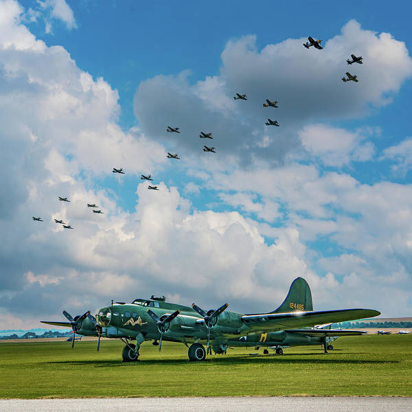 Photograph - A Day Out At The Aerodrome by Chris Lord