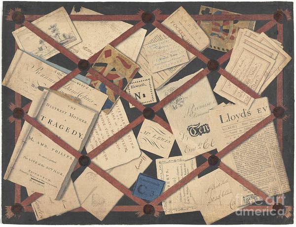 Samuel Lewis Wall Art - Drawing - A Deception by Samuel Lewis
