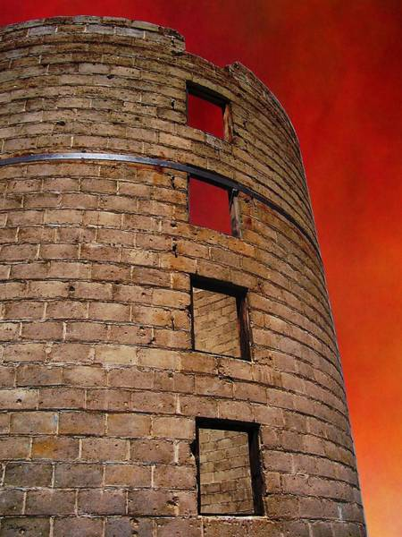 Wall Art - Photograph - A Desert Host 3  Strong Tower by Glenn McCarthy Art and Photography