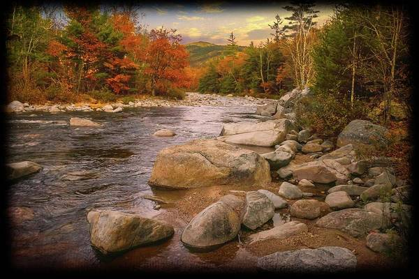 Photograph -  Swift River,new Hampshire by Rusty R Smith
