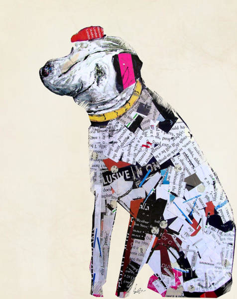 Terrier Painting - A Dog Life by Bri Buckley