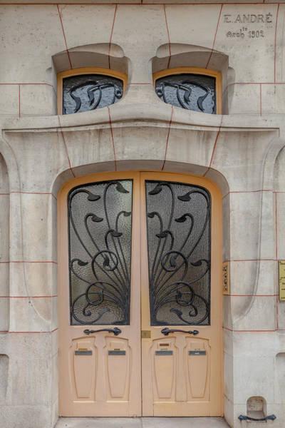 Nouveau Photograph - A Door In Nancy by W Chris Fooshee