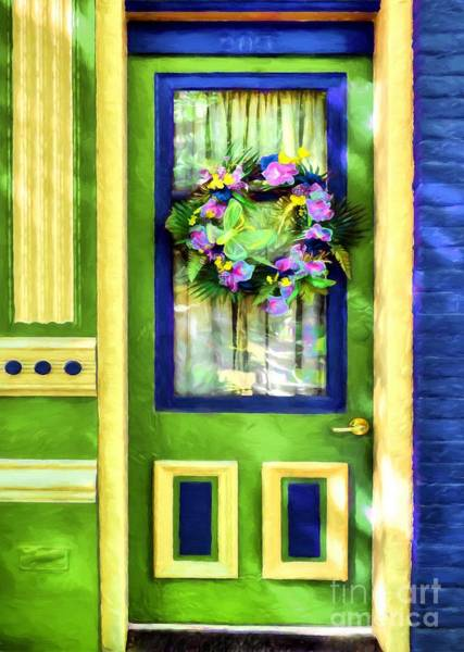 Photograph - A Door Of Many Colors # 3 by Mel Steinhauer