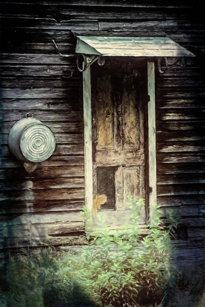 Digital Art - A Doorway To My Past by Rusty R Smith