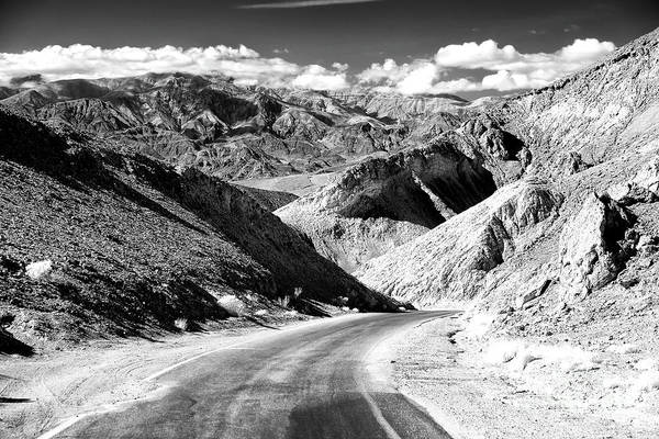 Photograph - A Drive Into Death Valley by John Rizzuto