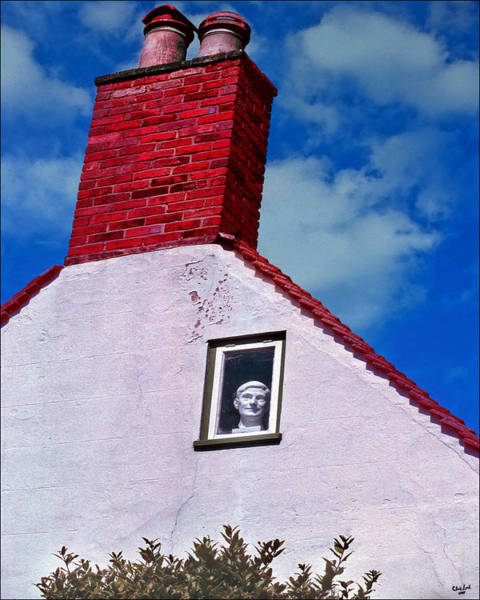 Photograph - A Face At The Window by Chris Lord