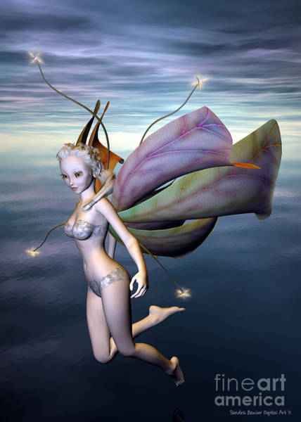 Digital Art - A Faerie Tale by Sandra Bauser Digital Art