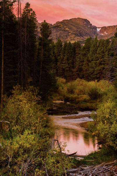 Photograph - A Fall Sunrise In The Rockies by John De Bord