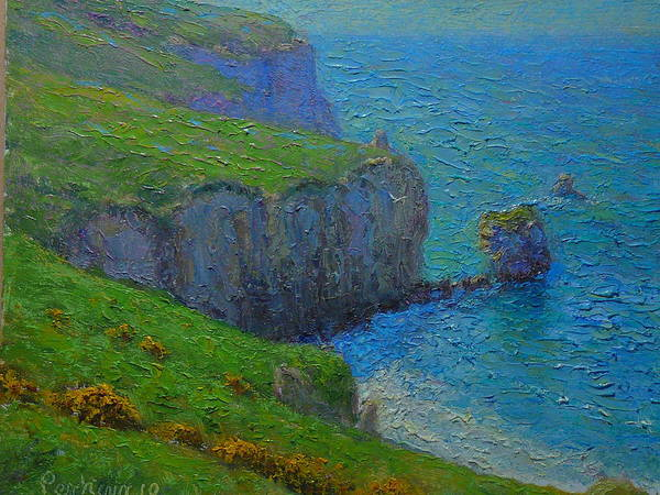Nz.impressionist Painting - A Fallen Arch by Terry Perham