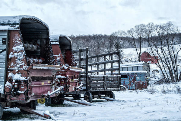 Photograph - A Farmers Winter by Frank Morales Jr