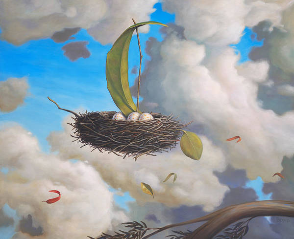 Idealism Wall Art - Painting - A Favorable Wind by Paul Bond