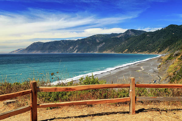 Photograph - A Fence On The Lost Coast by James Eddy