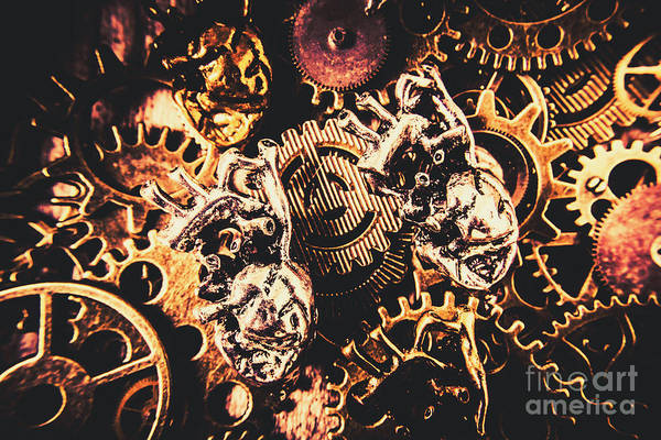Anatomy Wall Art - Photograph - A Fiction In Machine Love by Jorgo Photography - Wall Art Gallery