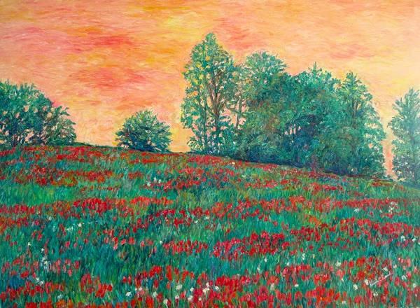 Painting - Field Of Beauty by Kendall Kessler