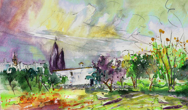 Painting - A Finca In Turre 02 by Miki De Goodaboom