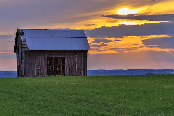 Photograph - A Fingerlakes Sunset by Rod Best
