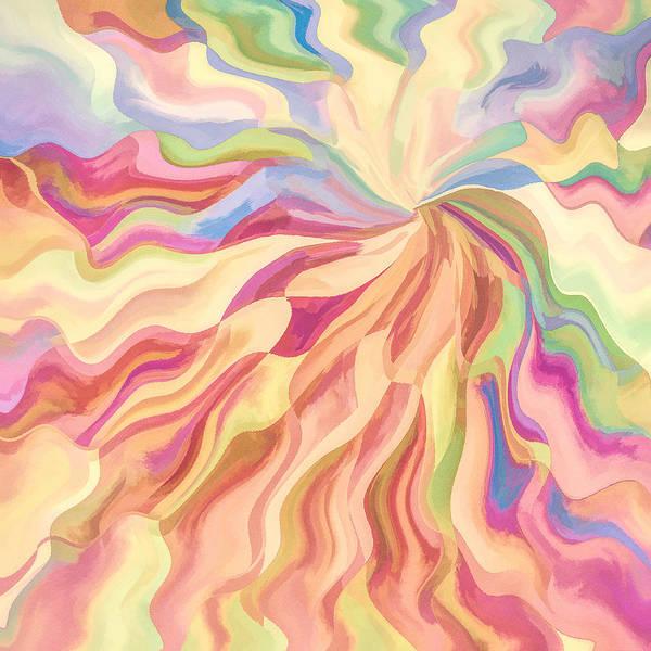 Pastels Digital Art - A Flower For Georgia by Jon Woodhams
