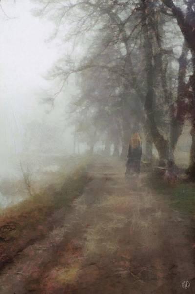 Wall Art - Digital Art - A Foggy Day by Gun Legler