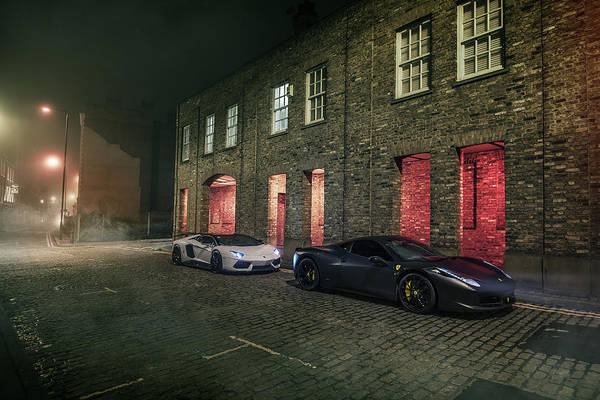 458 Photograph - A Foggy Evening In London by George Williams