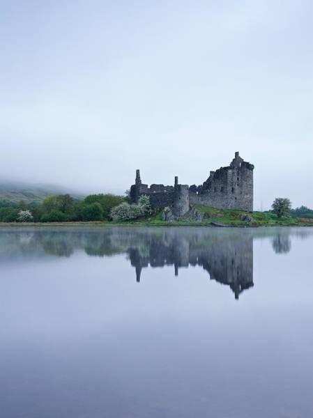 Photograph - A Foggy Morning At Kilchurn by Stephen Taylor