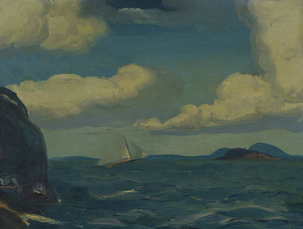 Painting - A Fresh Breeze by George Bellows