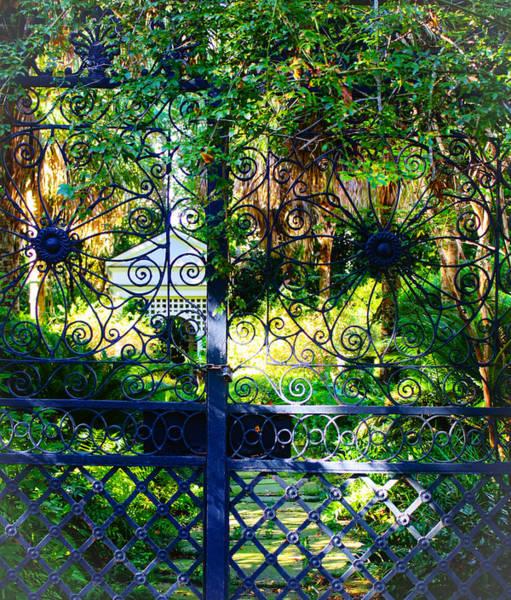Photograph - A Garden Glimpse by Stacey Rosebrock