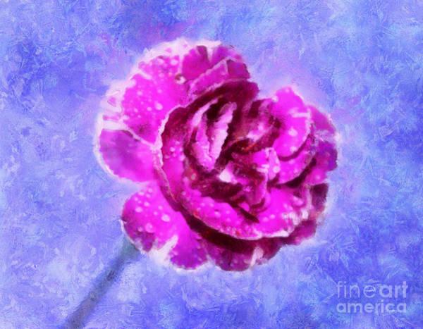 Carnation Photograph - A Gift Of Hope by Krissy Katsimbras