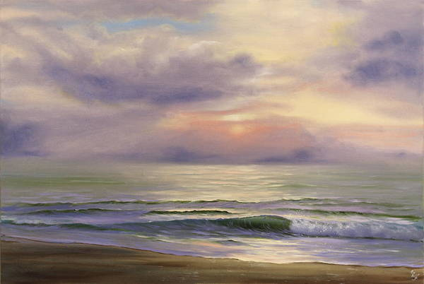 Painting - A Glimpse Of Heaven by Eva Volf