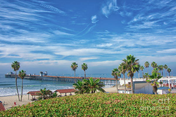 Photograph - A Glorious Morning At Oceanside Pier by David Levin