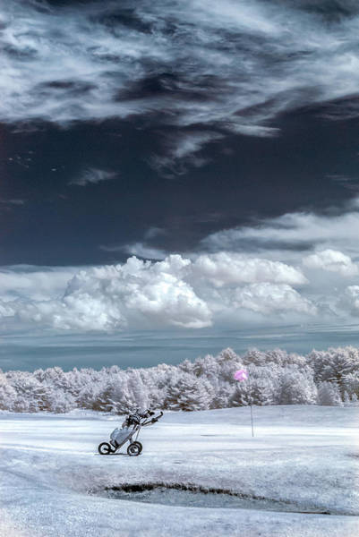 Photograph - A Golf Course In Infrared by Guy Whiteley