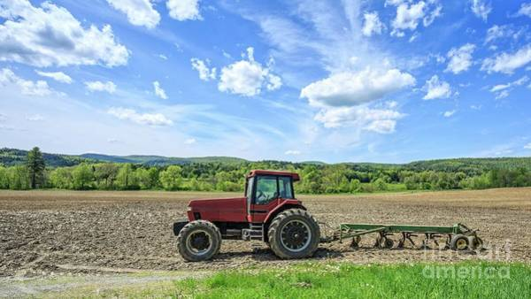 Plowing Photograph - A Good Days Work by Edward Fielding