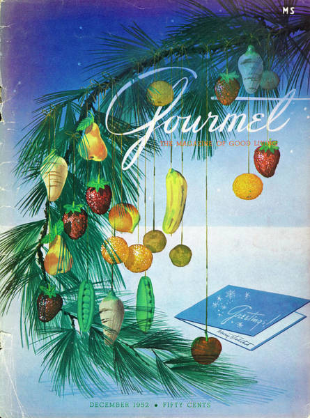 Celebration Photograph - A Gourmet Cover Of Marzipan Fruit by Henry Stahlhut