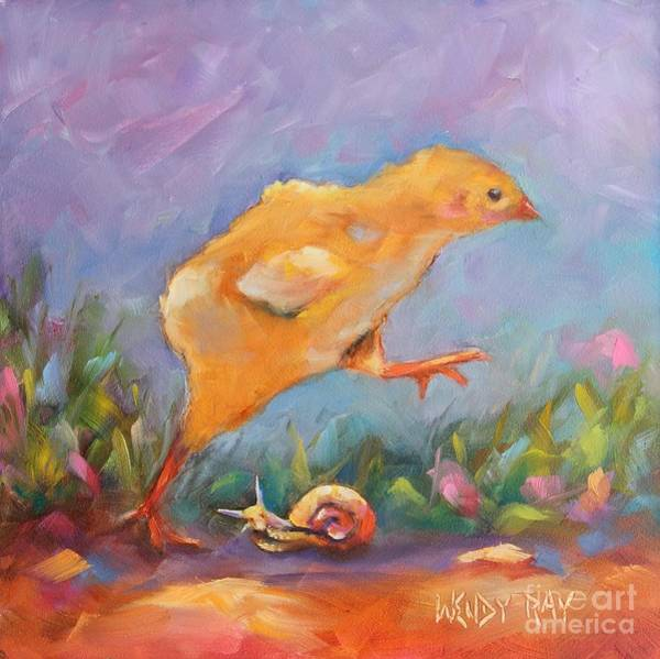 Painting - A Gracious Friend by Wendy Ray