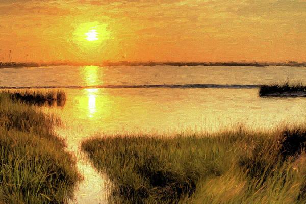 Grayton Beach State Park Photograph - A Grayton Sunset by JC Findley