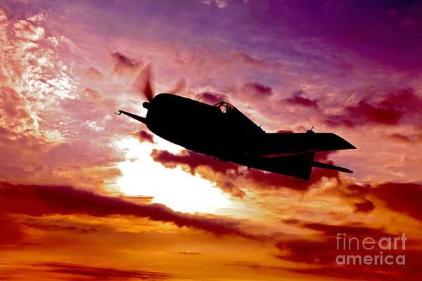Photograph - A Grumman F6f Hellcat Fighter Plane by Scott Germain