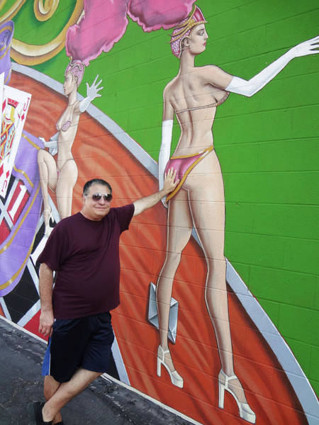Humor In Art And Photograph - A Hands On Kind Of Guy by Bruce Iorio