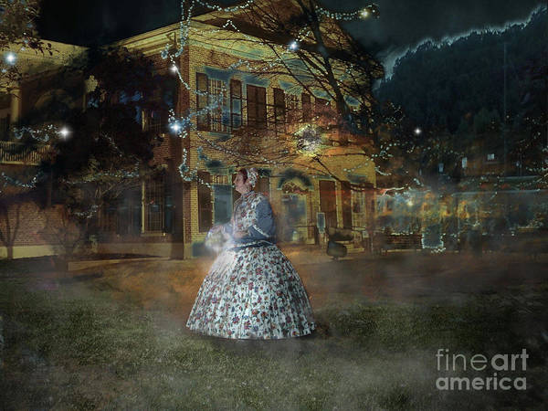 Photograph - A Haunted Story In Dahlonega by Nicole Angell