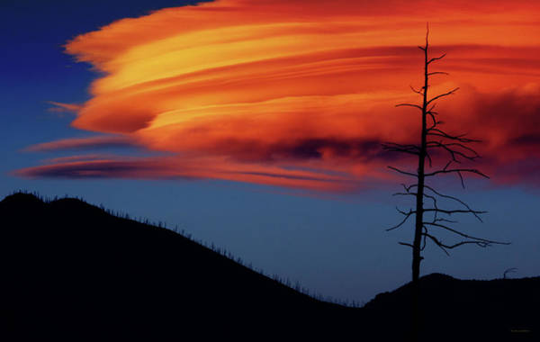 Dread Photograph - A Haunting Sunset by Brian Gustafson