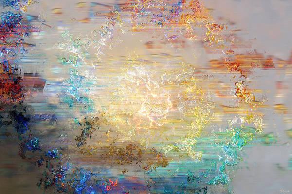 Mixed Media - A Heart So Big - Custom Version 3 - Abstract Art by Jaison Cianelli