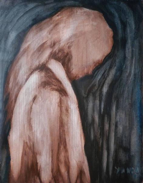 Painting - A Heavy Thought by Katt Yanda