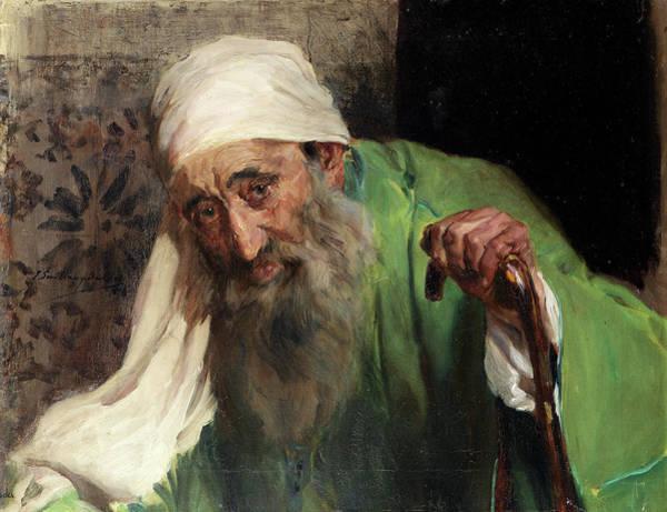 Hebrew Painting - A Hebrew by Joaquin Sorolla y Bastida